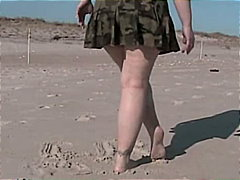Public, Flashing, Beach, Masturbation, Squirting, Amateur, Pussy