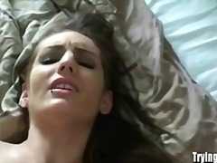 Teen, Takes, Brunette, Pov (Point Of View), Hardcore, Precious, Home Made, Huge