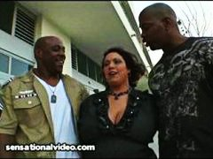 Dp, Big, Huge-Tits, Interacial, Bbw, Latina, Fucks, Monster-Cock