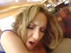 Threesome, Gets, Blonde, Fucked, Anal