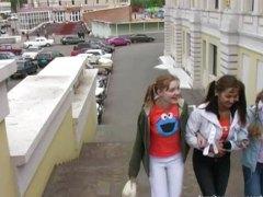 Meisje, Russisch, Tiener, Orgie, Groep, Amateur