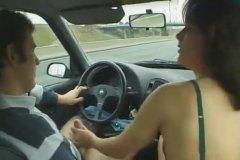 ظرفاء, أثداء طبيعية, في السيارة, نكاح اليد, زبار