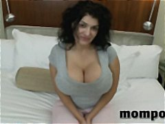 Cougar, Housewife, Tits, Pov Point Of View, Blowjob