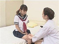 اغوا شده, پرستار, نو جوان, ژاپنی, لزبین, آسیایی