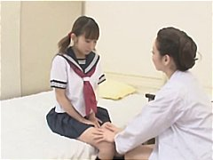 Seduced, Asian, Gets, Nurse, Lesbian, Young, Gal, Japanese