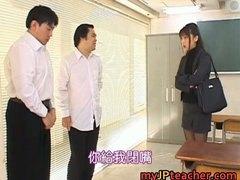 Naughty, Jpteacher, Japanese, Bunko Kanazawa, Part4