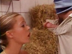 Farm, Babe, Facials, German, Cute, Teens, Tyra Misoux, Blonde