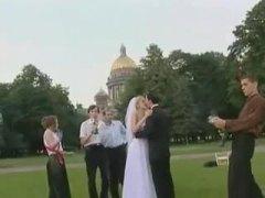 Handjob, Kissing, Wedding, Group, European