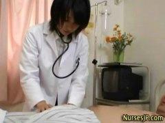 Punheta Com As Mãos, Broches, Broches, Enfermeiras, Asiáticas, Uniformes, Doutores, Asiáticas