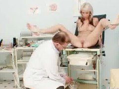 Fetish, Exclusiveclub.com, Enema, Gyno, Closeups, Blonde, Exam, Doctor