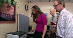 في المكتب, السمراوات, بريطانية, نظارات, سيدات رائعات