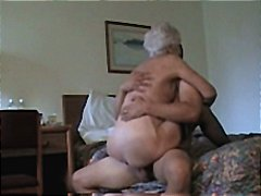 White, Granny, Gets, Milf, Mature, Pounded, Haired, Horny