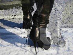 Teens, Totally, Heels, Ice, Leather, On, High, High Heels