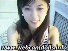 Japonesas, Jovem, Mamas Pequenas, Despido, Striptease