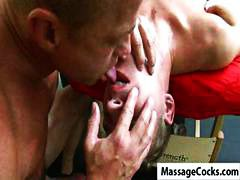 Massage, Fucking, Some, Gay, Muscled
