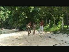 Cumshot, Teen, Teenager, Bukkake, Thai, Amateur, Group, Forest