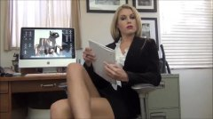 Office, Small, Therapist, Cock, Hot, Makes, Skirt, Small Cock