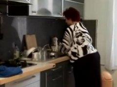 خبيرات, في المطبخ, مسنات, بدينات, مسنات