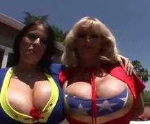 Hardcore, Sex, Ffm, Big Tits, Oral, Cumshot, Busty, Jizz