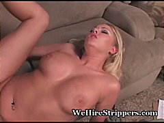 Pussy, Teasing, Audition, Coed, Hot, Blonde, Vip, Wehirestrippers.com