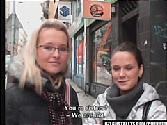 Handjob, Czechstreets.com, Homemade, Blowjob, Point-Of-View, European, Amateur, Glasses