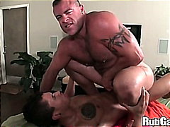 Shaved, Blowjob, Muscule, Huge Cock, Bear, Oil, Big Dick, Massage