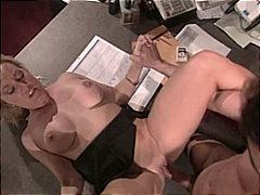 نجوم الجنس, في المكتب, نهود كبيرة, مص, زوجان, شقراوات