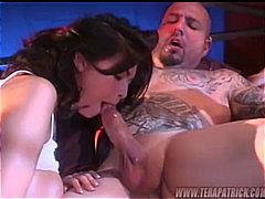 Tera Patrick, Blowjob, Couple, Pornstar, Brunette