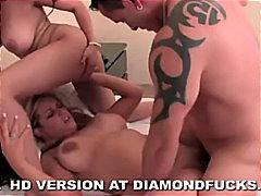 Pornstar, Cumshot, Blowjob, Ffm, Hugeboobs, Blonde, BigtitsLingerie