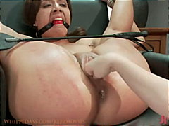 Lesbian, Wet, Fingering, Double-Fisting, Fetish, Schoolgirl, Tied-Up, Bdsm