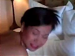 Thai, Klaarkomen Op Het Gezicht, Tieten, Grote Borsten, Aziatisch, Sexy Moeder, Tieten, Rijp