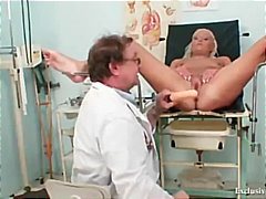 Reality, Exclusiveclub.com, Speculum, Doctor, Gaping, Teenager, Blonde, Gyno