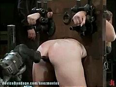 Teen, Fucking-Machine, Masturbation, Devicebondage.com, Bubble-Butt