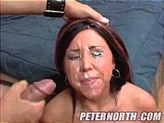 القذف, إمناء على الوجه