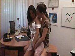 في المكتب, كس ضيق, بنات جميلات, واقعى, طيز, حك, سحاقيات