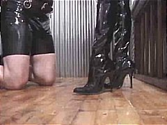 Femdom, Strapon, Bdsm, Latex, Collar, Fetish, Face Sitting, Bound