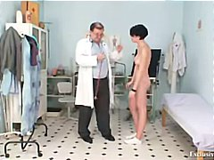 Kinky, Weird, Gyno Exam, Doctor, Boobs, Babe, Speculum, Rectal Exam
