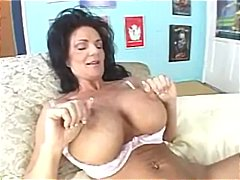 Fake Tits, Pussy Eating, Big Tits, Milf, Huge, Foreplay, Brunette, Rimjob