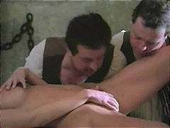 Hot Pussy, Classic, Uniform, Vintage, Threesome