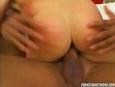Threesome, Monster-Cock, Blonde, Big-Tits, Ass