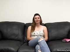 Amateur Backroom, Casting, First, Audition, Couch