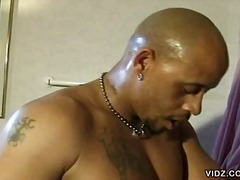 Shower, Pussy Licking, Black