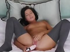 Masturbating, Adult-Toys, Dildo, Babes, Sex-Toy, Hot, Tiny-Tits, Masterbation