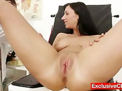 Babes, Enema, Medical, Cervix, Exclusiveclub.com, Gyno, Doctor, Gaping
