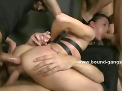 Deepthroat, Double Penetration, Bondage, K.d., Gangbang, Big Cock, Ass, Facial