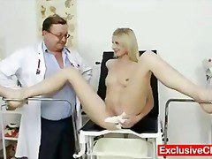 Speculum, Hospital, Gyno, Exclusiveclub.com, Blonde, Exam, Medical, Mia Hilton