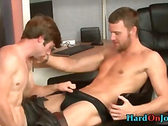 Office, Gaysex, Cock, Sucking, Blowjob, Bigcock, Hunk, Gay-Hardcore