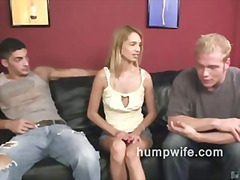Reality, Cuckold, Blowjob, Hardcore, Wifey, Blonde, Wife