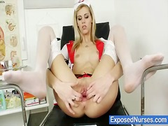 Orgasm, Extreme, Stockings, Nurse, Nude, Uniform, Nurses, Kinky