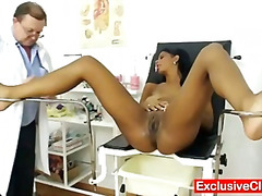 Pussy-Eating, Medical, Latina, Vagina, Clinic, Doctor, Hospital